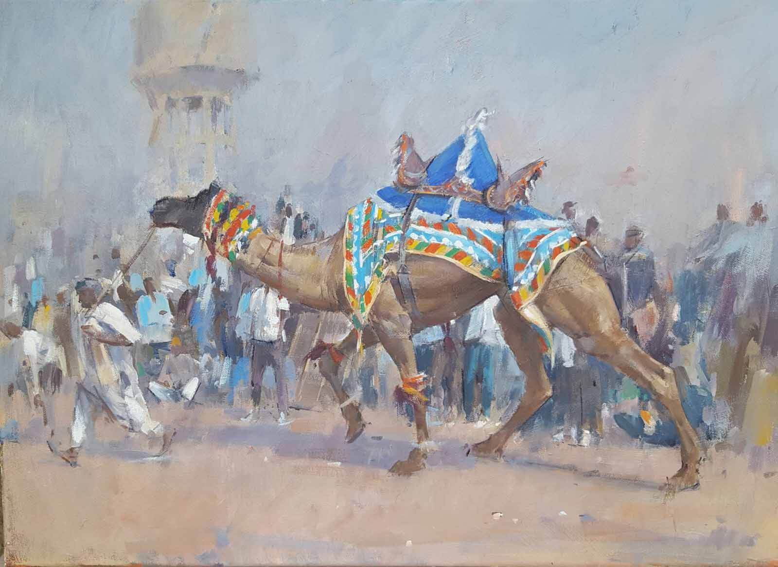 Leading The Winner, Camel Dancing, Nagaur