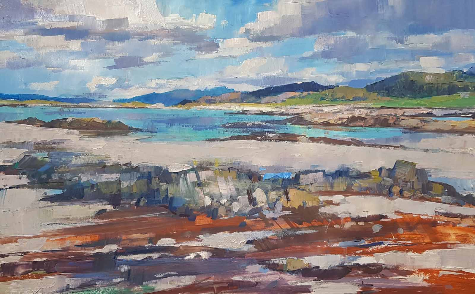Summer Afternoon, Morar, Arisaig
