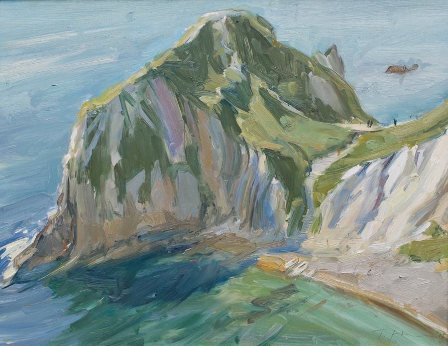 Man of War Bay, Study
