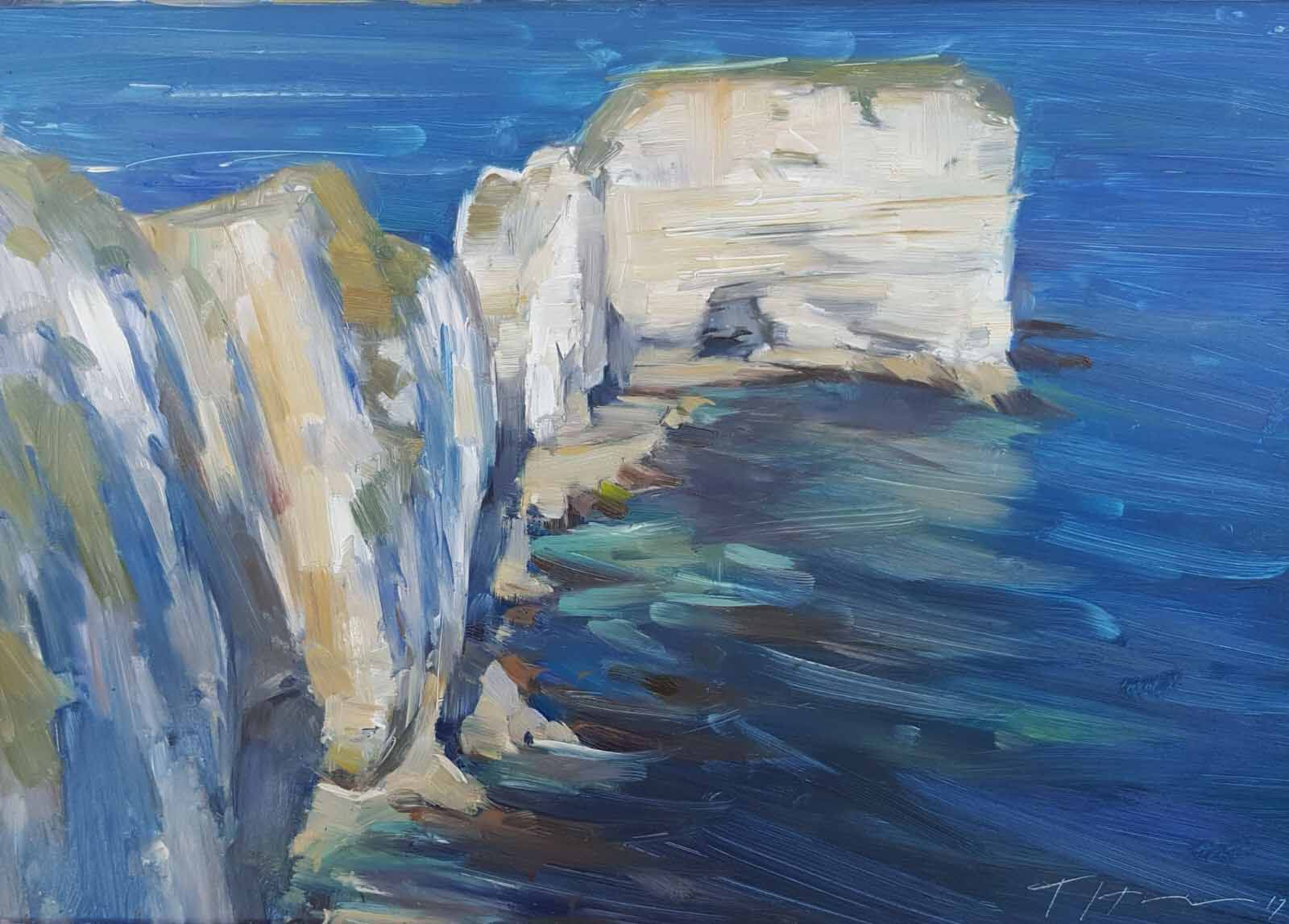 Old Harry Rocks, September