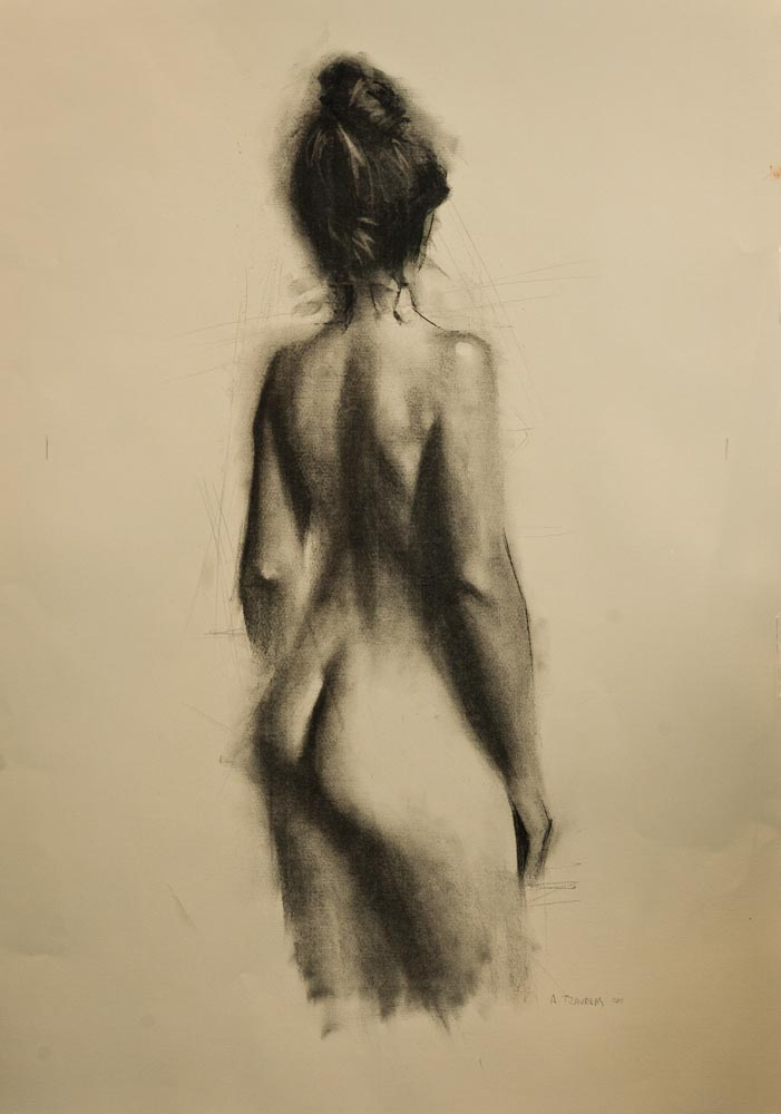 Standing Nude (Back)