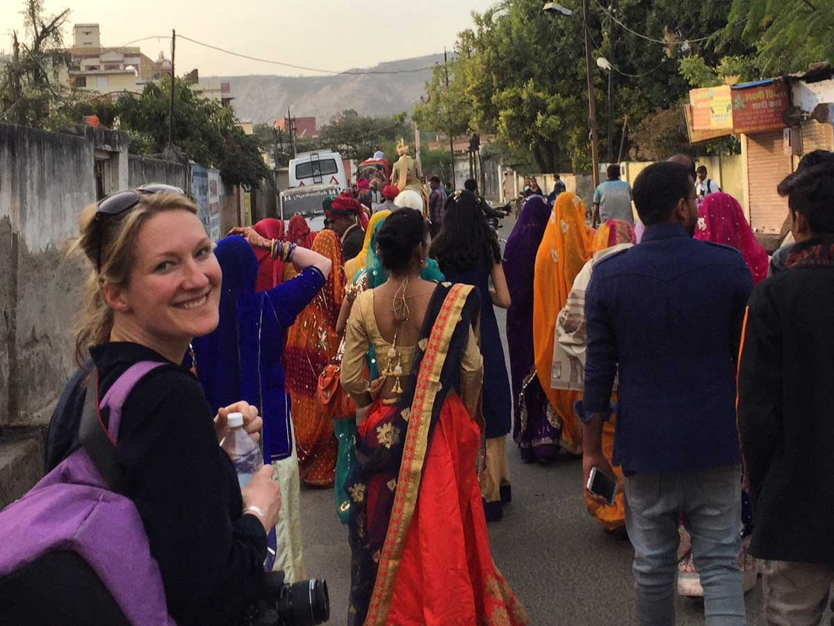 Rebecca Hawkins in India & Nepal