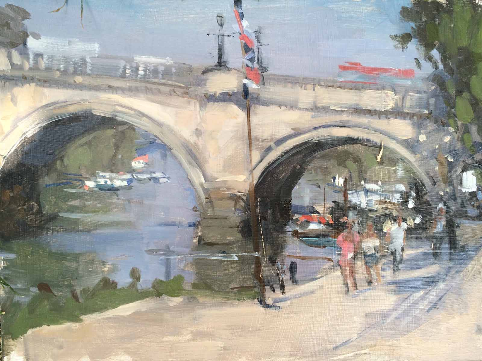 High Summer, Richmond Bridge