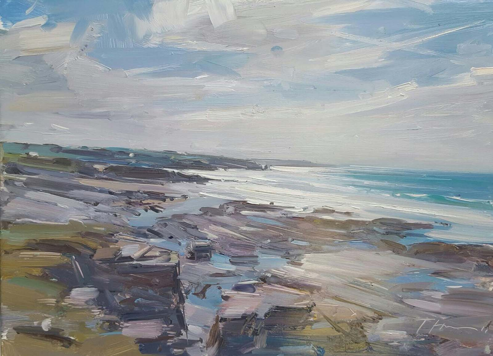 Towards Constantine Bay, Mid Afternoon Light