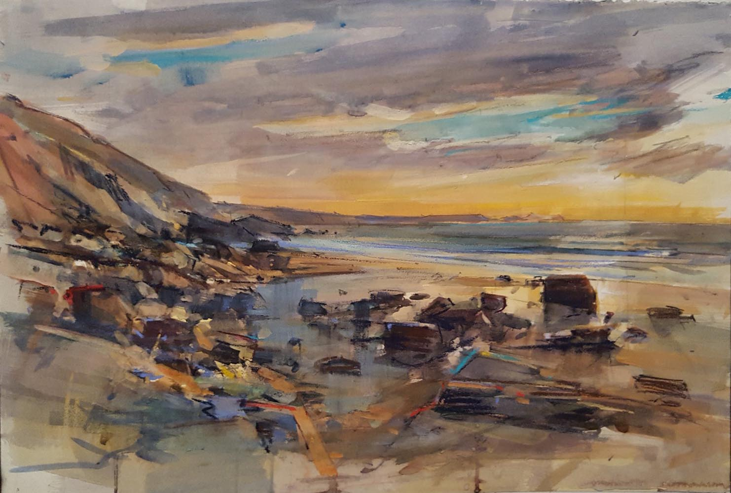 Sunset, Tregardock
