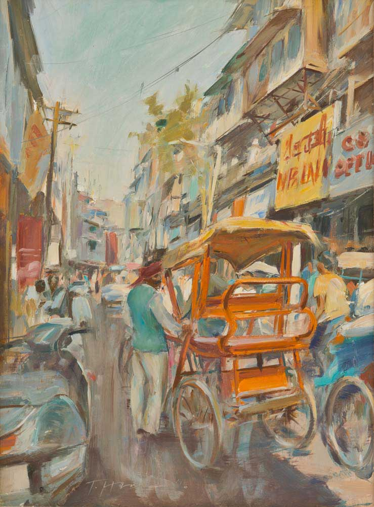 The Orange Rickshaw, Chandi Chowk