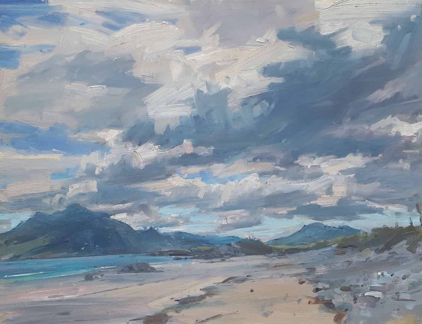 Big Skies over The Strand, Renvyle