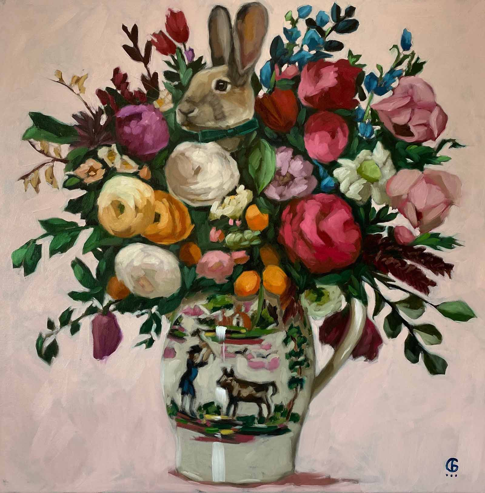 Rabbit in Jug